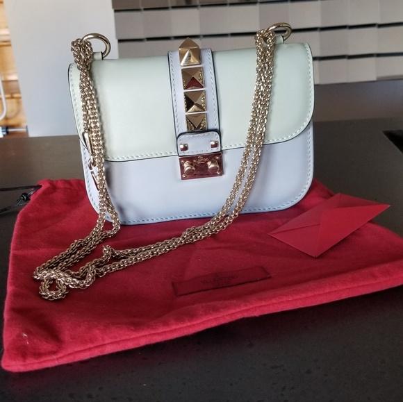 00860209476 Valentino Bags | Pastel Glam Rock Rockstud Small Bag | Poshmark